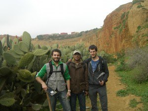 fieldwork in Morocco